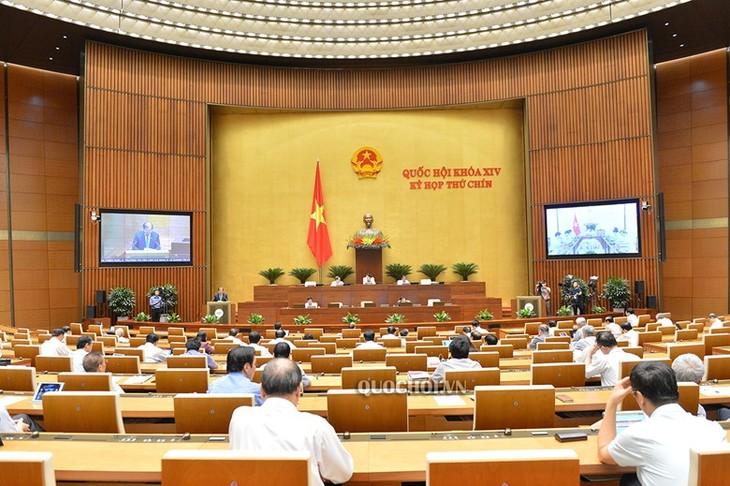 Началась вторая неделя работы 9-й сессии Национального собрания Вьетнама 14-го созыва - ảnh 1