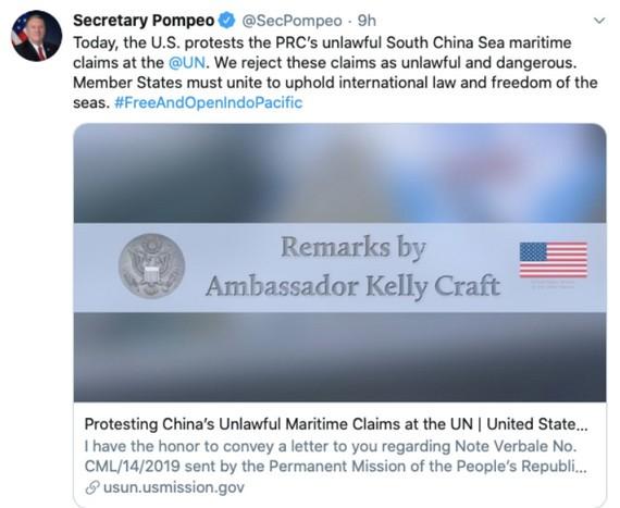 Реакция Китая на выступление США по поводу Восточного моря - ảnh 1