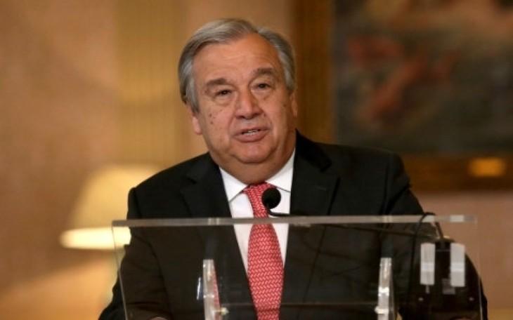 Генсек ООН выразил сожаление по поводу закрытия каналов связи между двумя Кореями - ảnh 1