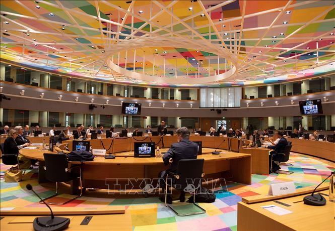 Главы внешнеполитических ведомств стран ЕС и США провели виртуальную встречу для обсуждения многих важных вопросов - ảnh 1