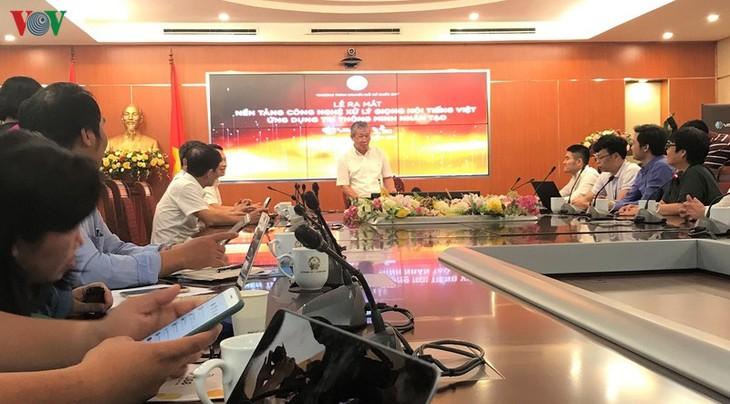 Запущены технологические платформы обработки вьетнамской речи - ảnh 1