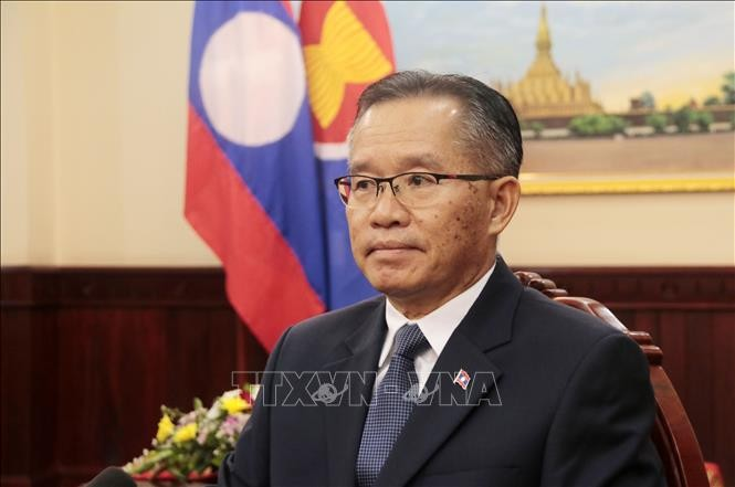 Лаос высоко оценил роль Вьетнама в качестве председателя АСЕАН - ảnh 1