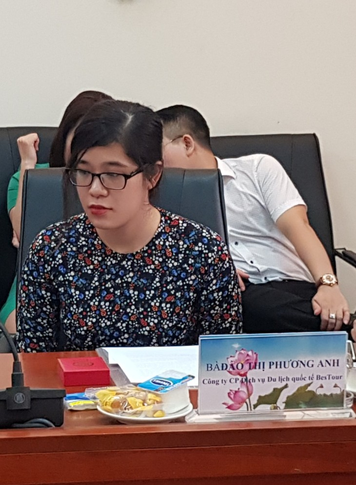 Дао Тхи Фыонг Ань – переводчик, занятый работой по предотвращению эпидемии Covid-19 - ảnh 1