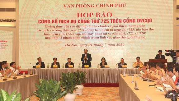 Во Вьетнаме ещё 6 новых государственных услуг появились на портале «Госуслуги» - ảnh 1