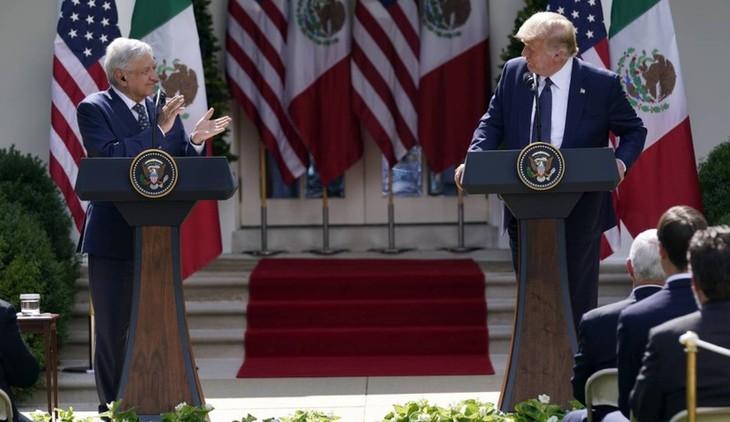 США и Мексика сделали совместное заявление о двусторонних отношениях - ảnh 1