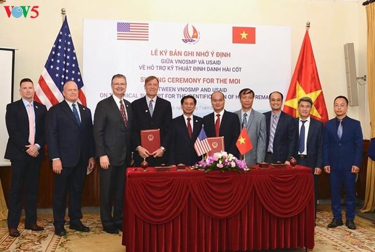 США и Вьетнам активизируют партнерские отношения в ликивдации последствий войны - ảnh 1
