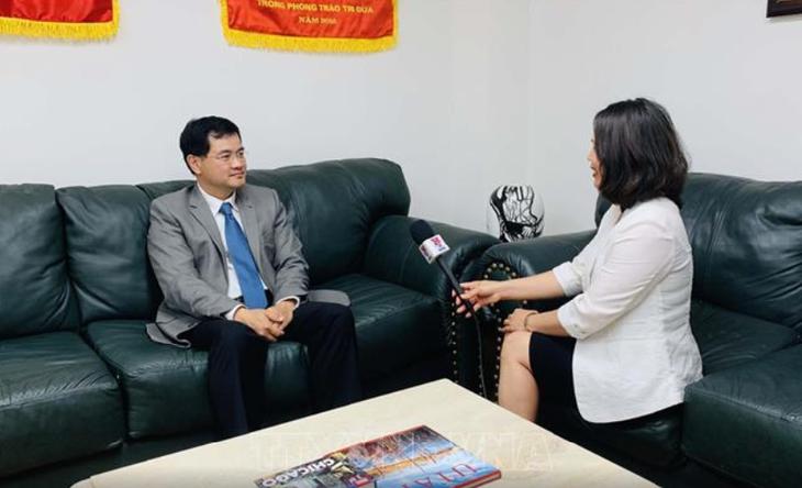 25-летие установления дипотношений между Вьетнамом и США: большой сдвиг в торгово-экономическом сотрудничестве  - ảnh 1