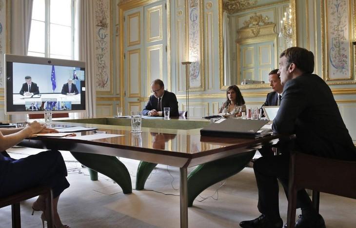 Сербия и Косово под председательством ЕС провели онлайн-переговоры - ảnh 1