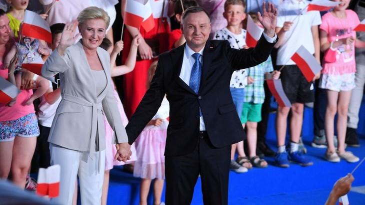 Анджей Дуда переизбран президентом Польши на второй срок  - ảnh 1