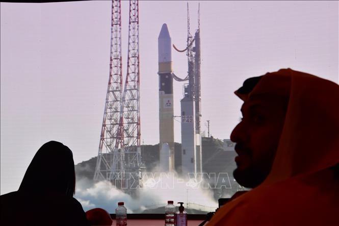Первая арабская межпланетная миссия отправилась в космос с территории Японии - ảnh 1
