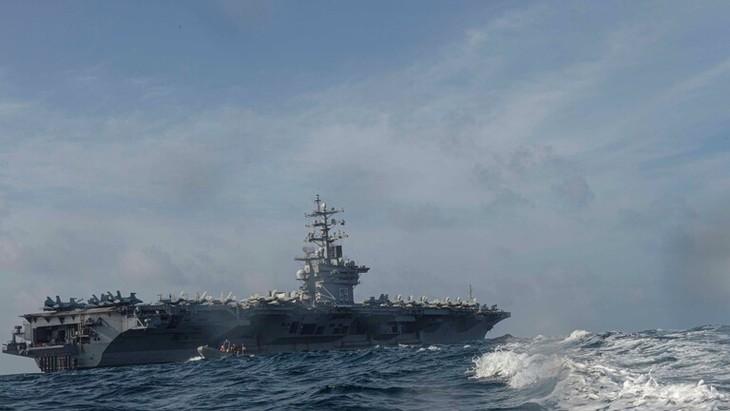 Турция и США провели маневры в Средиземном море - ảnh 1