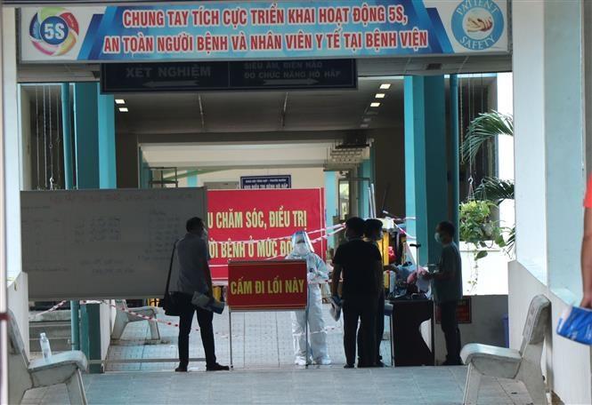 В уезде Хоаванг г.Дананга открылся полевой госпиталь для больных Сovid-19 - ảnh 1