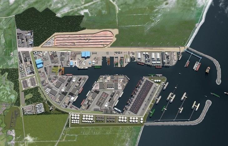 Бразилия строит крупный комплекс морских портов Porto Central - ảnh 1
