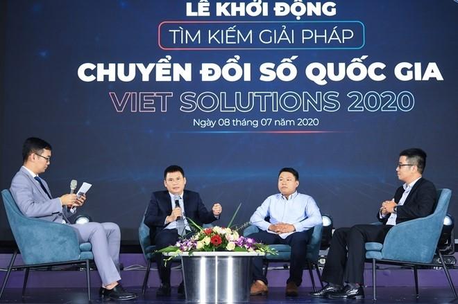 70% работ, присланных на конкурс «Viet Solutions», касаются сферы цифровой экономики Вьетнама - ảnh 1
