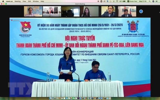 Вьетнамская и российская молодежь активизирует сотрудничество в новых условиях - ảnh 1