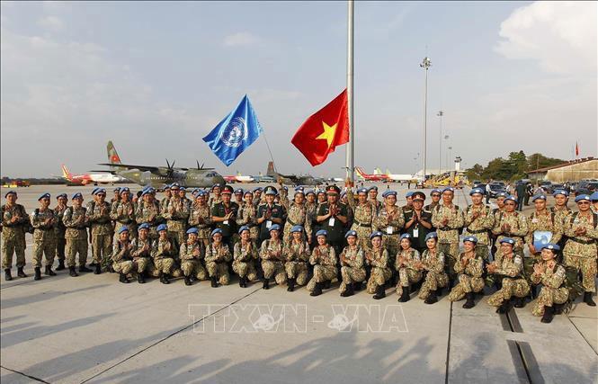 Вьетнамские миротворцы полны решимости успешно выполнить все порученные задачи в Южном Судане - ảnh 1