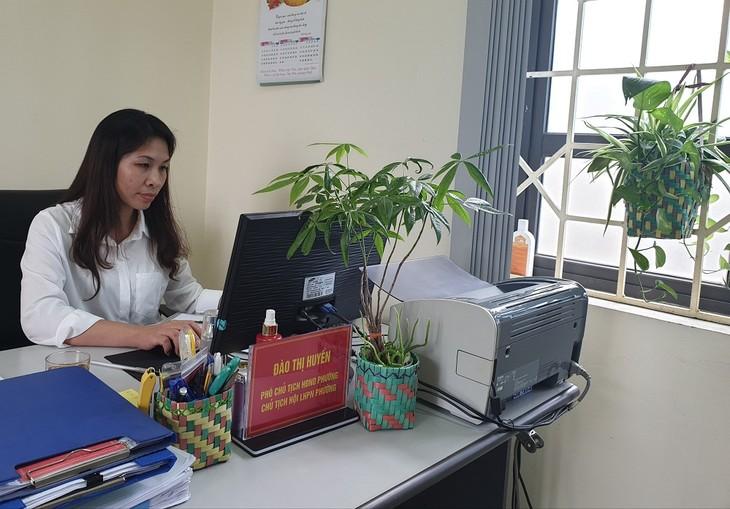 О Дао Тхи Хуен, которая посвящает себя охране окружающей среды - ảnh 1