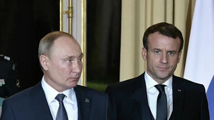 Президенты России и Франции обсудили ситуацию на юго-западе Украины - ảnh 1