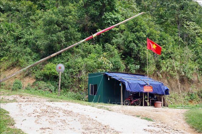 Пограничники провинции Шонла прилагают усилия для предотвращения эпидемии Covid-19 - ảnh 1