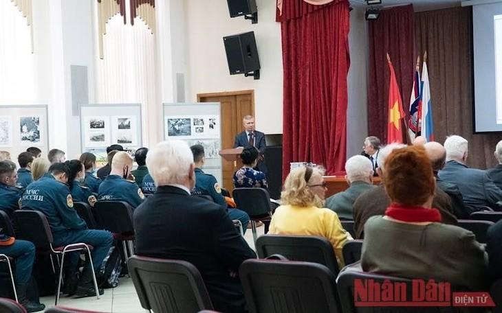 В России прошла праздничная церемония в честь 46-й годовщины освобождения Южного Вьетнама и воссоединения страны  - ảnh 1
