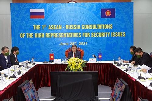 Министр общественной безопасности То Лам принял участие в консультативной конференции высокого уровня «Россия-АСЕАН» - ảnh 1