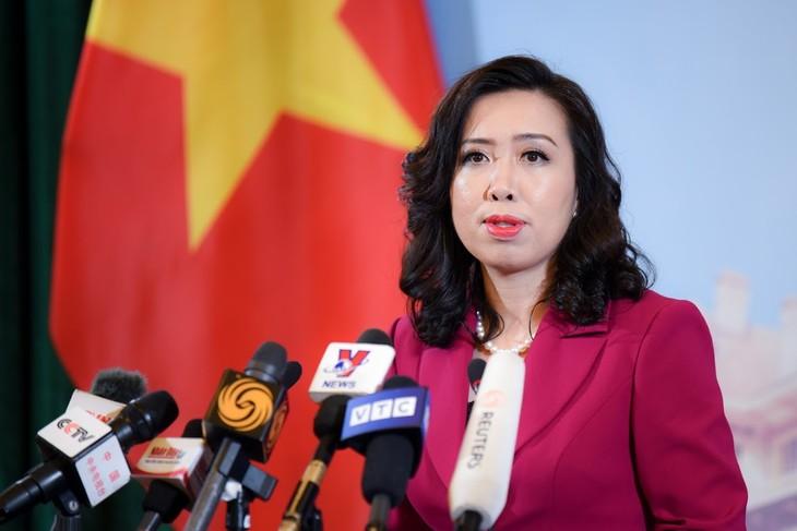 Вьетнам поддерживает урегулирование споров о суверенитете, суверенных правах и юрисдикции в Восточном море посредством дипломатических и юридических процессов - ảnh 1