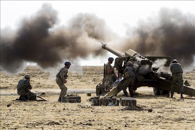 На Украине проходят крупномасштабные военные учения с участием США, Польши и Литвы - ảnh 1