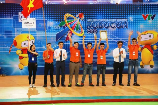 베트남의 제2팀,  2018  아시아 태평양 로봇 경연 대회 (ABU 로보콘) 우승 - ảnh 2