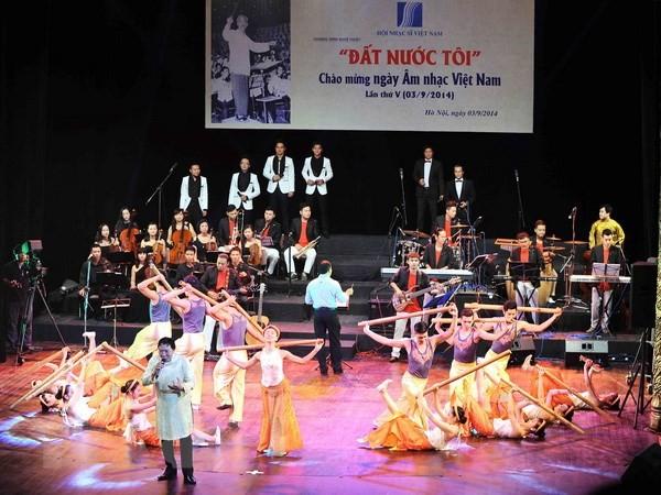 제 9 회 베트남 음악의 날 맞이하는 특색 있는 음악 축제 - ảnh 1