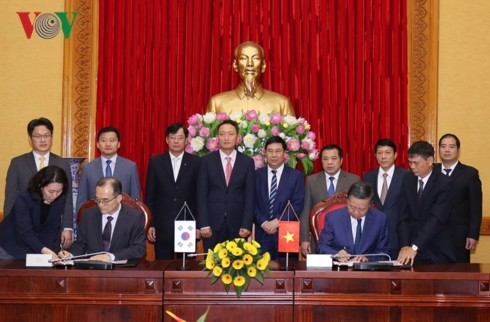 베트남과 한국, 공공안녕 분야 협력 촉진 - ảnh 1