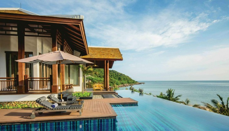 베트남 다낭시 인터컨티넨탈 다낭 썬 페닌슐라 휴양지,세계에서 가장 낭만적인 휴양지 및 호텔 목록 진출 - ảnh 1