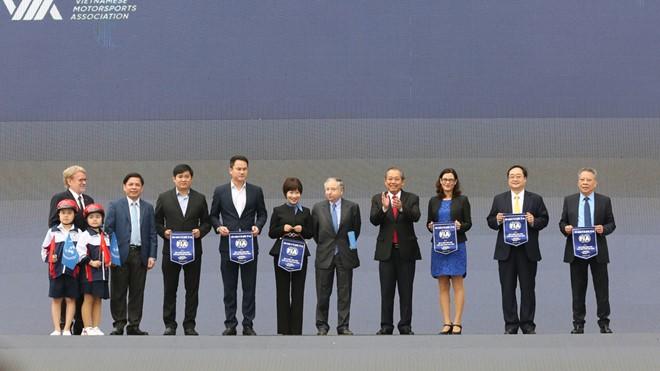 베트남 교통 안전을 위한 국제 캠페인 - ảnh 1