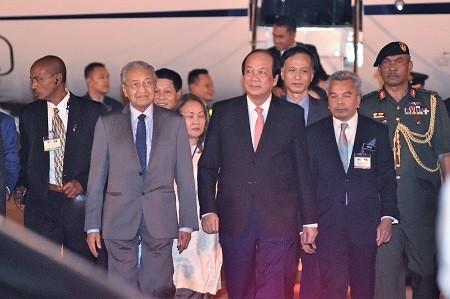 Thủ tướng Malaysia Mahathir Mohamad bắt đầu thăm chính thức Việt Nam - ảnh 1