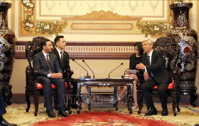Thúc đẩy quan hệ hợp tác giữa Thành phố Hồ Chí Minh và UAE - ảnh 1