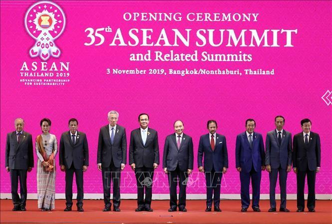 Khai mạc Hội nghị cấp cao ASEAN lần thứ 35 - ảnh 1