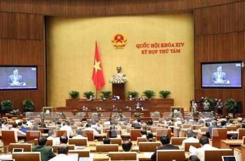 Kỳ họp thứ 8, Quốc hội khóa XIV: Quốc hội chất vấn 4 nhóm vấn đề  - ảnh 1
