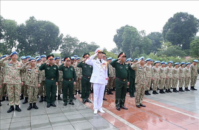 Sĩ quan mũ nồi xanh quyết tâm hoàn thành tốt nhiệm vụ quốc tế tại Sudan - ảnh 1