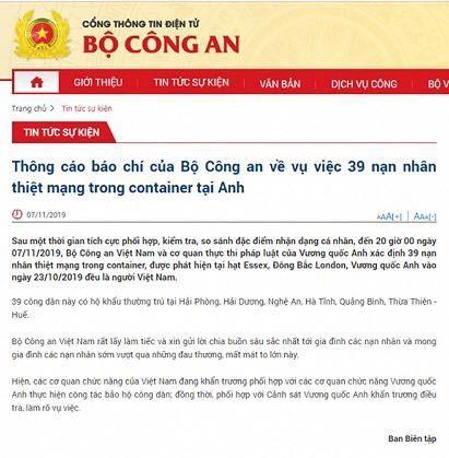 Người dân đau xót vì 39 người thiệt mạng tại Anh là công dân Việt Nam - ảnh 1
