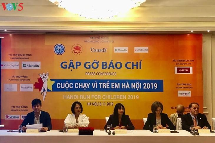 Chạy vì trẻ em Hà Nội 2019– Lan tỏa tinh thần yêu thương - ảnh 1