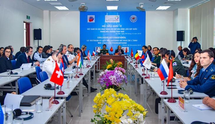 Việt Nam sẵn sàng chia sẻ kinh nghiệm và kiến thức chuyên môn trong hoạt động gìn giữ hòa bình - ảnh 1