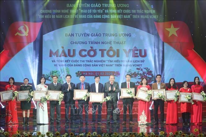Tổng kết cuộc thi tìm hiểu 90 năm lịch sử Đảng - ảnh 1