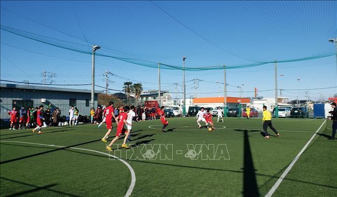 Giải bóng đá ở Nhật Bản chào mừng 90 năm ngày thành lập Đảng Cộng sản Việt Nam  - ảnh 1