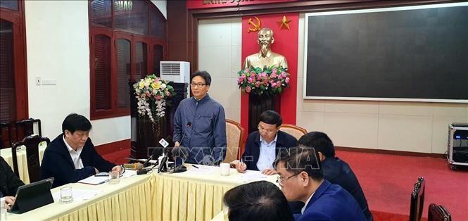 Phó Thủ tướng Vũ Đức Đam kiểm tra công tác phòng chống dịch ở tỉnh Quảng Ninh - ảnh 1