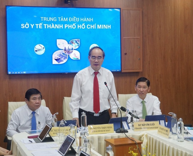 Thành phố Hồ Chí Minh ra mắt hai trung tâm điều hành thông minh ngành y tế và giáo dục - ảnh 1