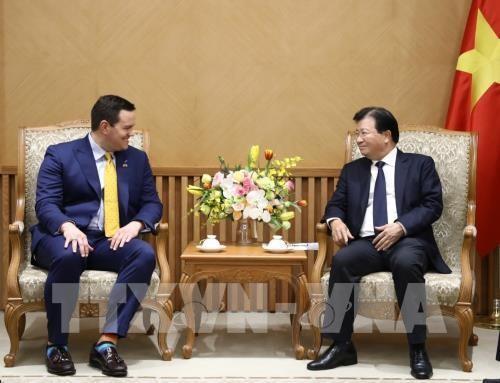 Nhóm các nhà đầu tư Hoa Kỳ - Hàn Quốc quan tâm phát triển dự án điện khí LNG tại Việt Nam - ảnh 1