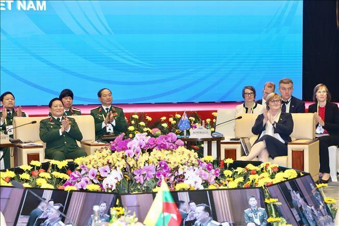 Khai mạc Cuộc gặp không chính thức Bộ trưởng Quốc phòng ASEAN - Australia - ảnh 1