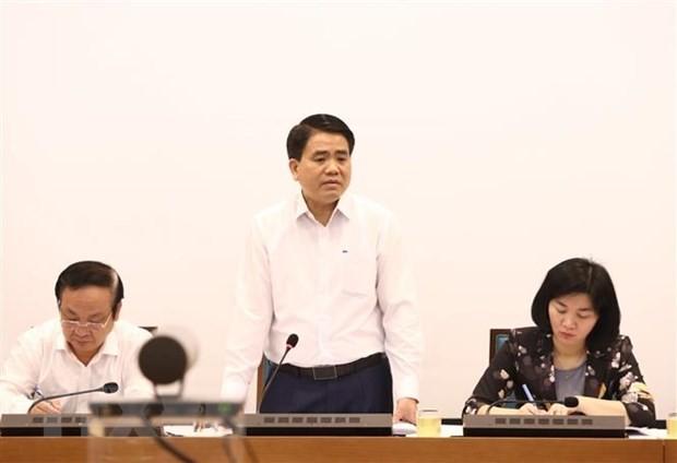 Dịch COVID-19: Hà Nội bàn giải pháp tăng trưởng kinh tế - xã hội - ảnh 1