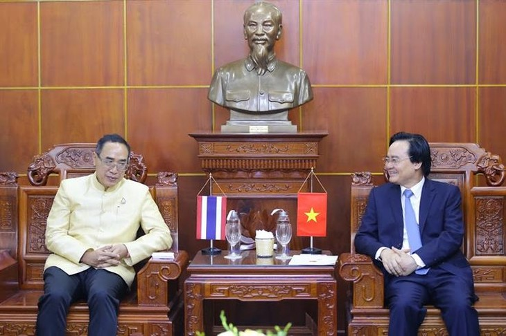Kết nối giáo dục Việt Nam – Thái Lan nhằm tăng cường giao lưu học sinh, giáo viên và cán bộ quản lý giáo dục - ảnh 1