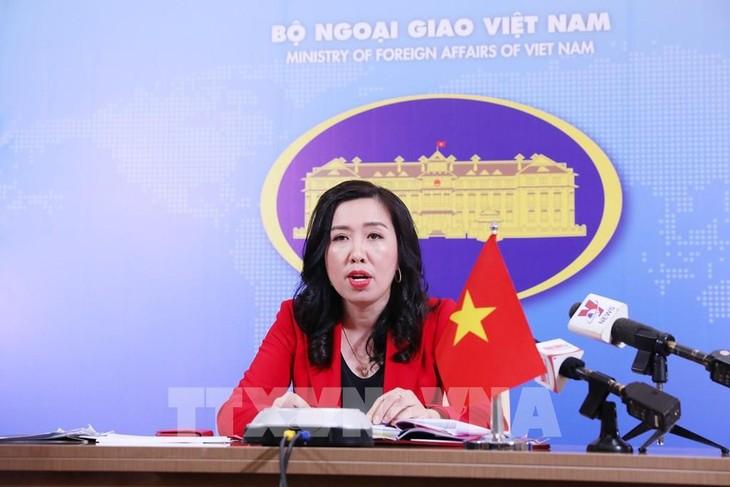 Việt Nam phản đối các hành động của Trung Quốc tại quần đảo Trường Sa và Hoàng Sa  - ảnh 1