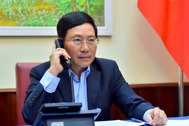 Việt Nam - Nhật Bản tăng cường hợp tác phòng chống Covid-19 - ảnh 1
